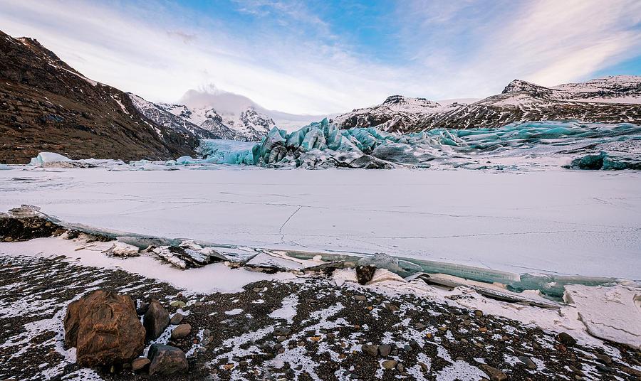 South Iceland Glacier Photograph