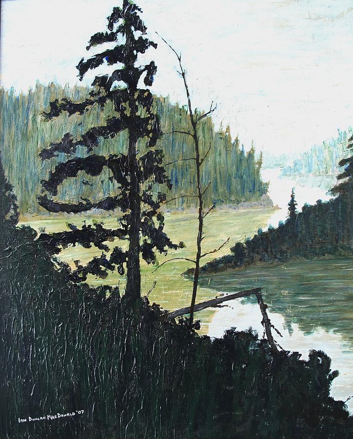 Sudbury Painting - South of Sudbury by Ian  MacDonald