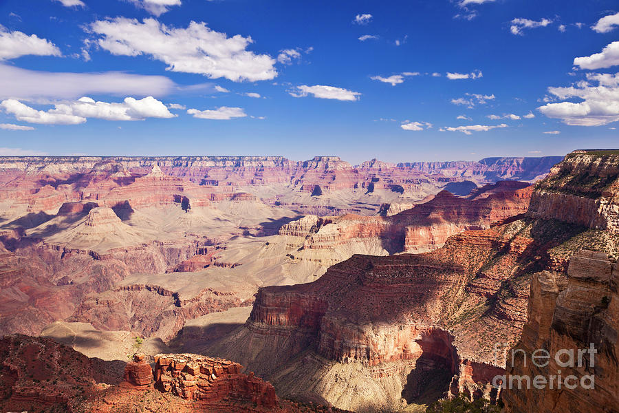 South Rim At Maricopa Point Grand Canyon National Park Arizona Usa Photograph By Neale And Judith Clark