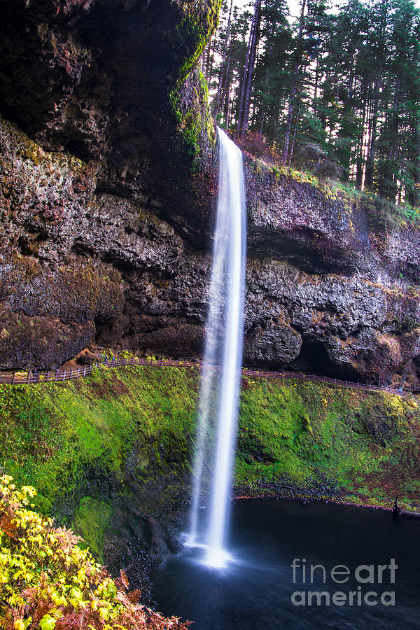 South Silver Falls by Stan Townsend