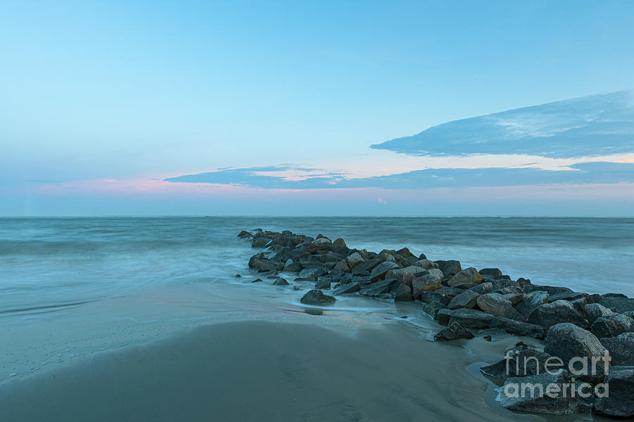 Southern Salty Shore - On The Rocks Photograph