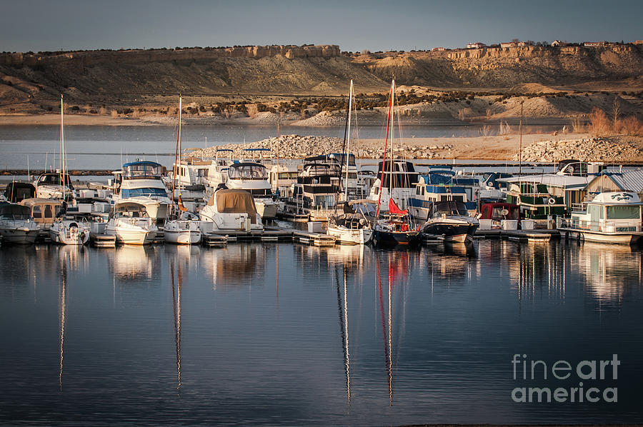 Scenic Photography Photograph - Southshore Marina On Lake Pueblo by John Bartelt