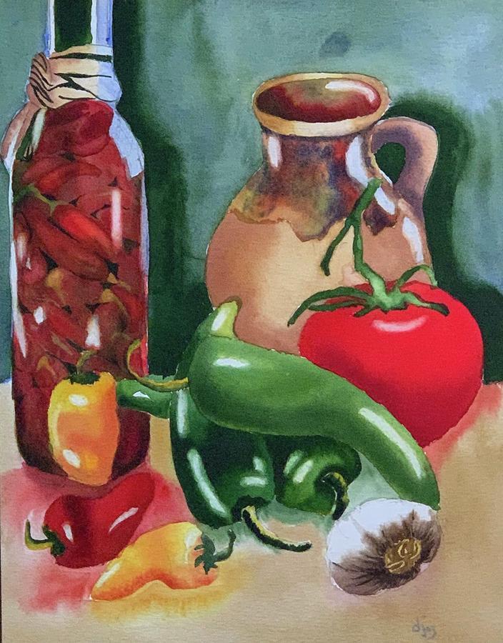Southwestern Vegetables by Donna Joy Cavaliere