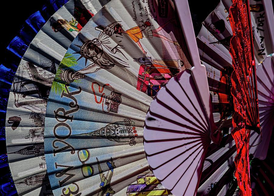 Souvenir Fans Chinatown Nyc Photograph