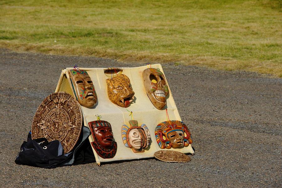 Souvenir Mexican mask Photograph by Photo by Kosei Saito
