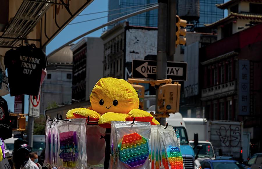 Souvenir Shop - Chinatown Nyc Photograph