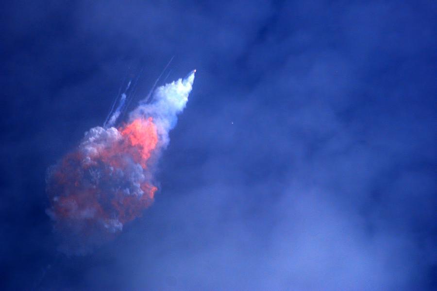 SpaceX Crew Dragon Abort Test by Bradford Martin