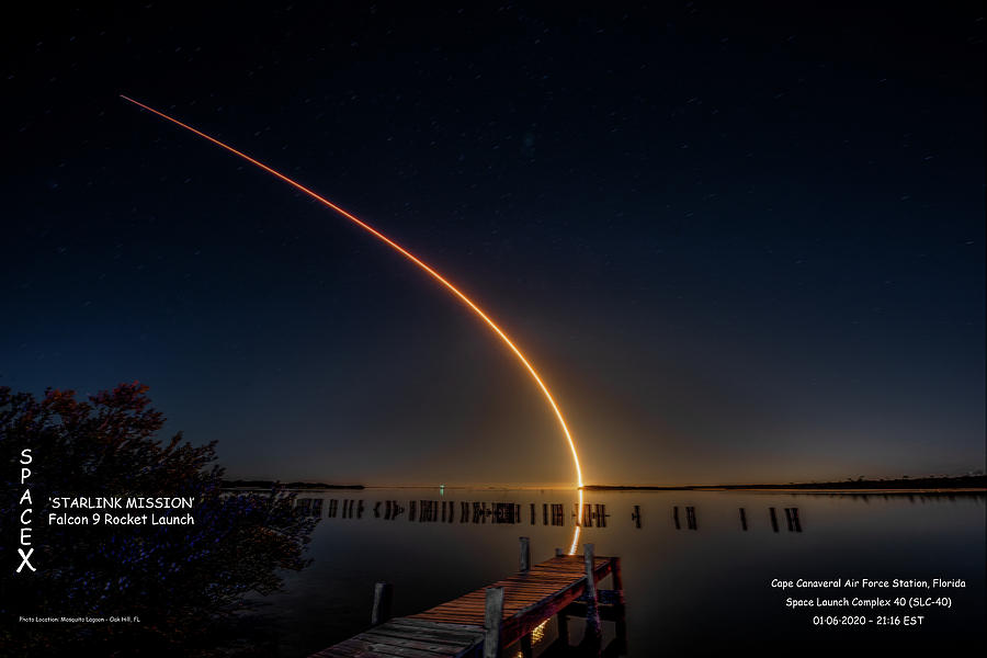 SpaceX by Norman Peay