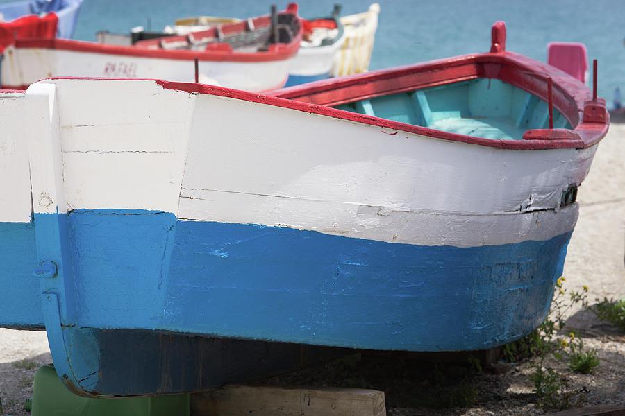 Spanish Fishing Boats Photograph
