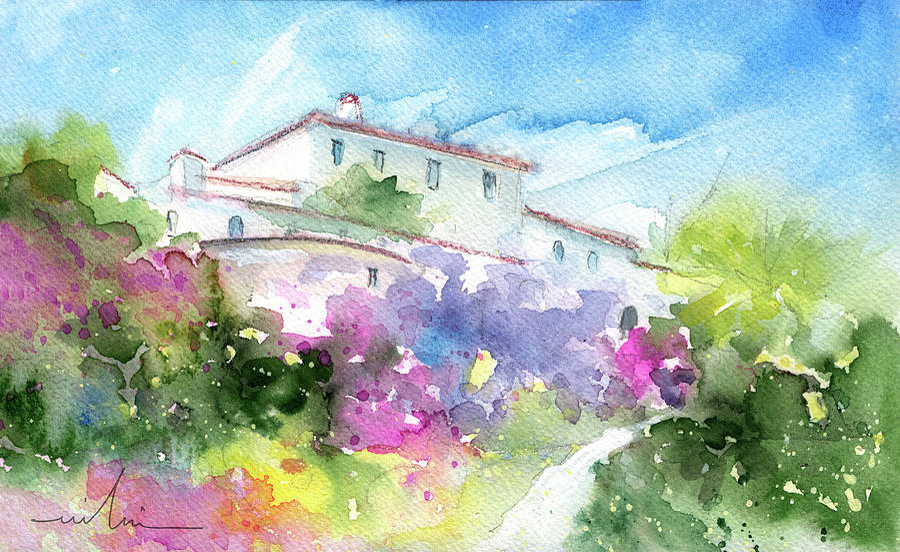 Spanish Villa by Nerja by Miki De Goodaboom
