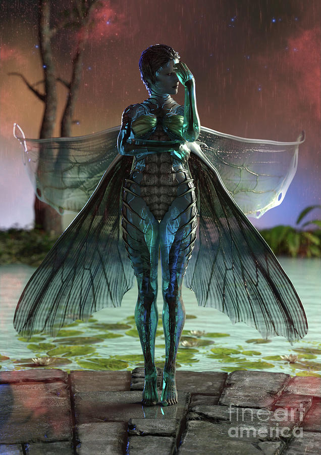 SparkleFly Fairy by Elle Arden Walby