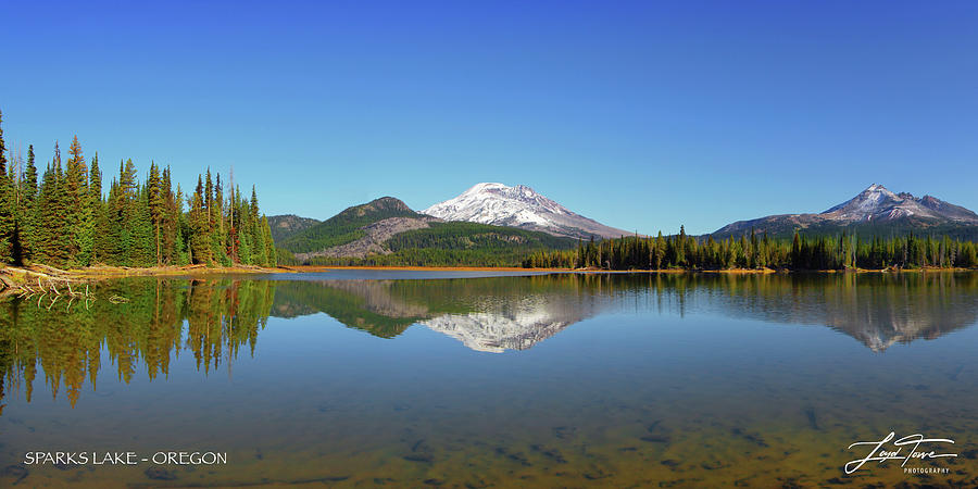 Panorama Photograph - Sparks Lake Panorama by Loyd Towe Photography