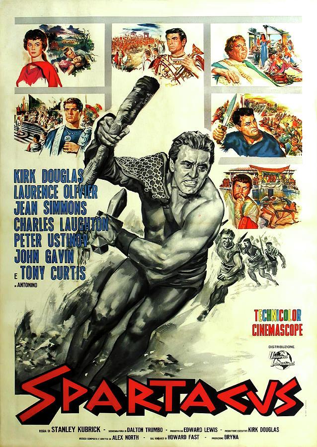 spartacus - 1960 Mixed Media
