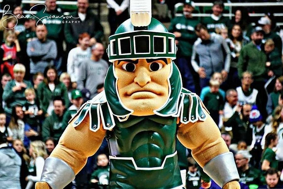 Sparty On Photograph By Beau Swanson
