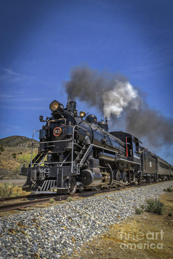 Speeding Locomotive Photograph