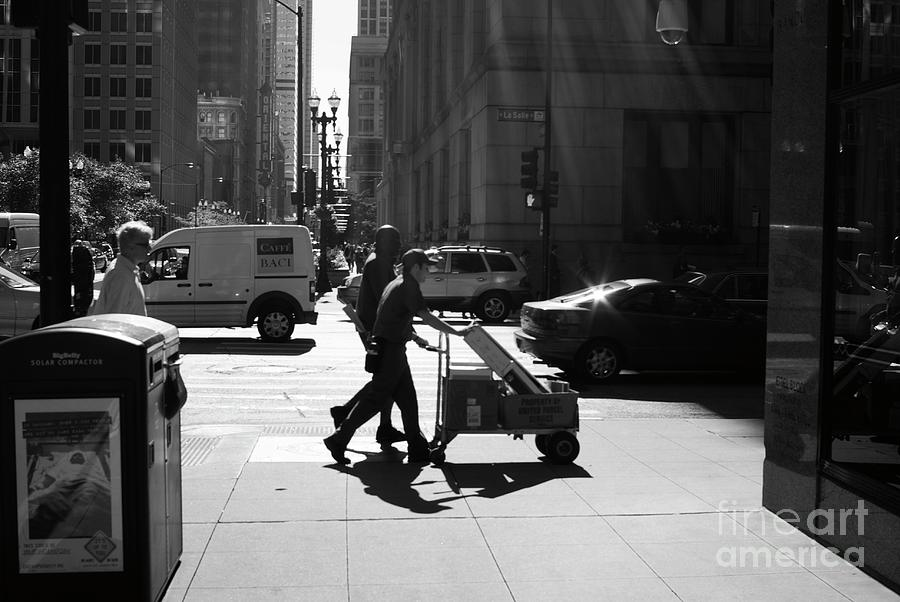Street Photograph - Speedy Delivery by Frank J Casella