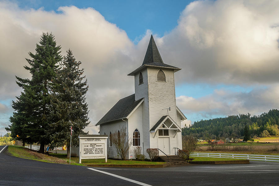 Spencer Creek Lutheran Church by Matthew Irvin