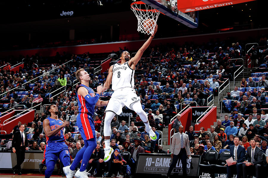 Spencer Dinwiddie Photograph by Brian Sevald