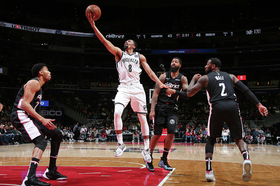 Spencer Dinwiddie Photograph by Ned Dishman