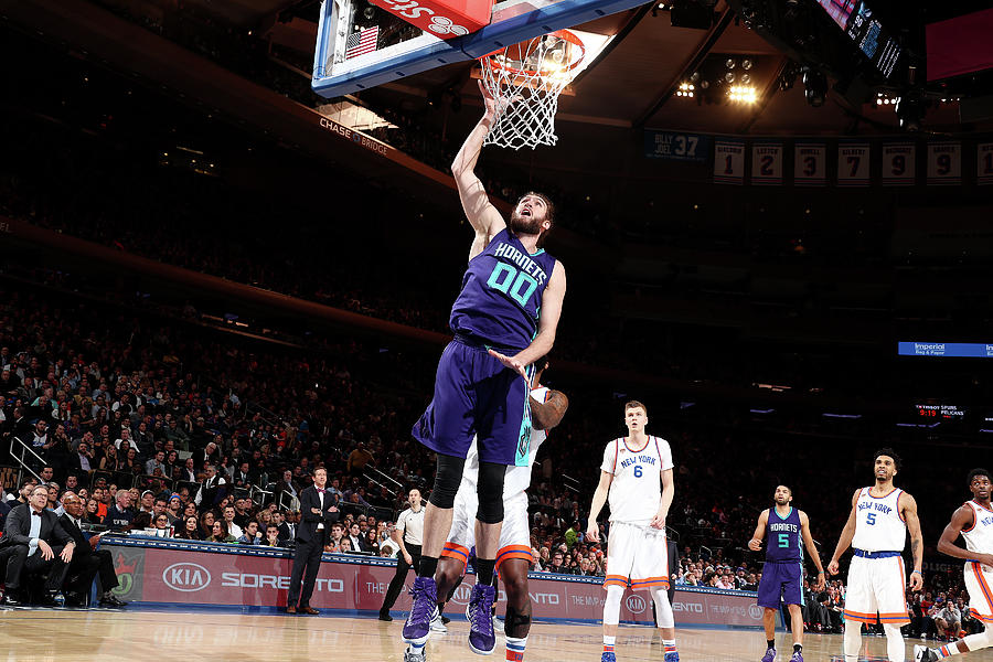 Spencer Hawes Photograph by Nathaniel S. Butler