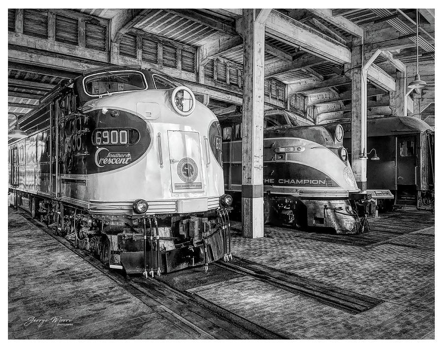 Spencer Shops Diesels by George Moore