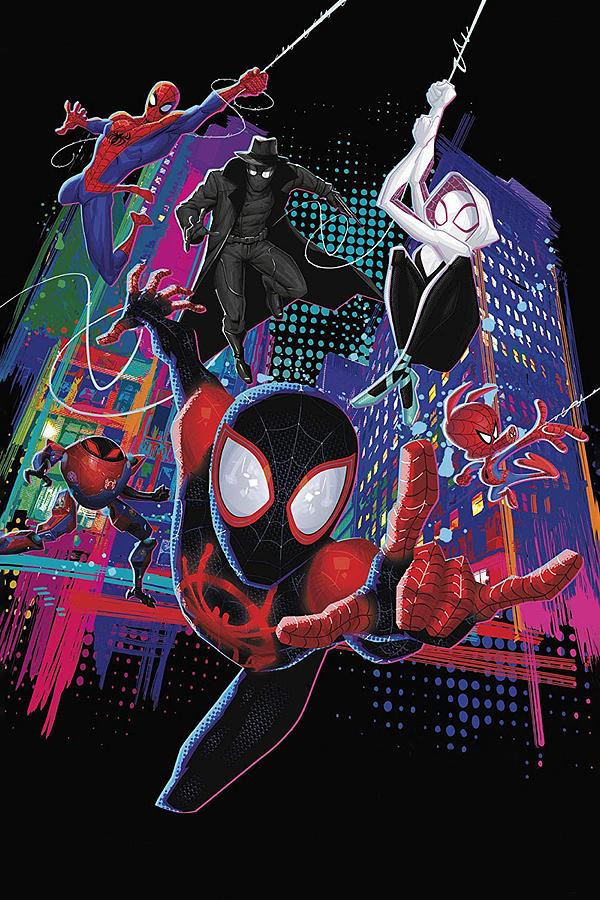 Spider Man Into The Spider Verse 2018 Digital Art By Geek N Rock