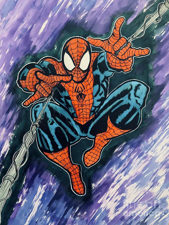 Spidey Drawing