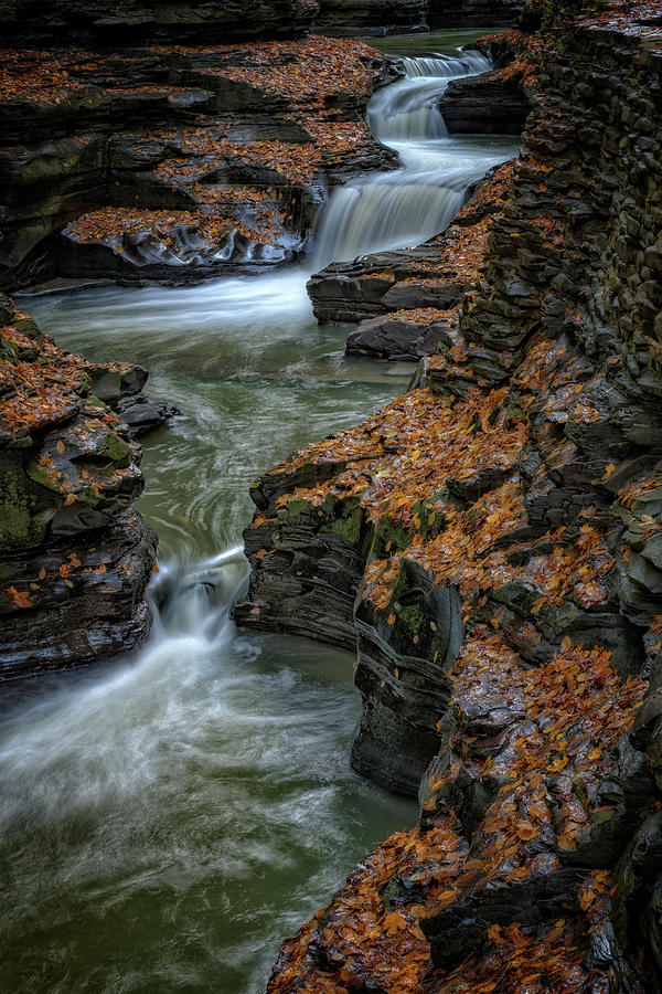 Spiral Gorge in the Fall by Rick Berk