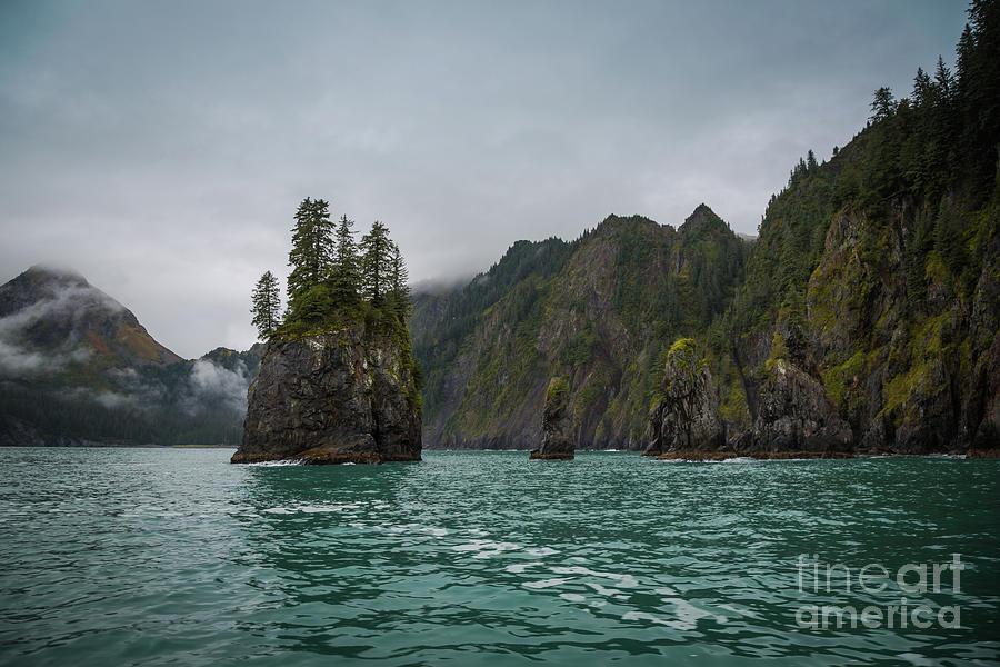 Spire Cove,Alaska by Eva Lechner