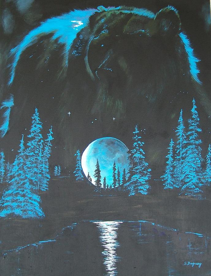 Spirit Of Kelowna Aka Grizzly Painting