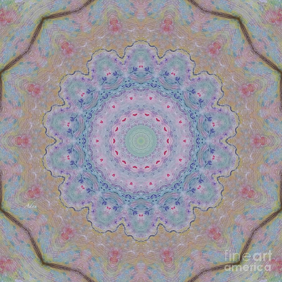Spirit Of The Butterflies Mandela Soft Digital Art