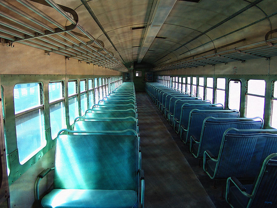 Spirit Train Passenger Car by Glenn McCarthy Art and Photography
