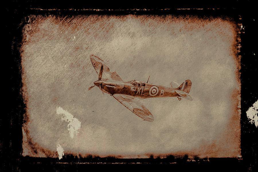 Spitfire Nostalgia Photograph
