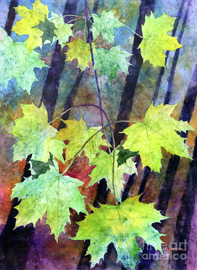 Splash Of Yellow-pastel Colors Painting