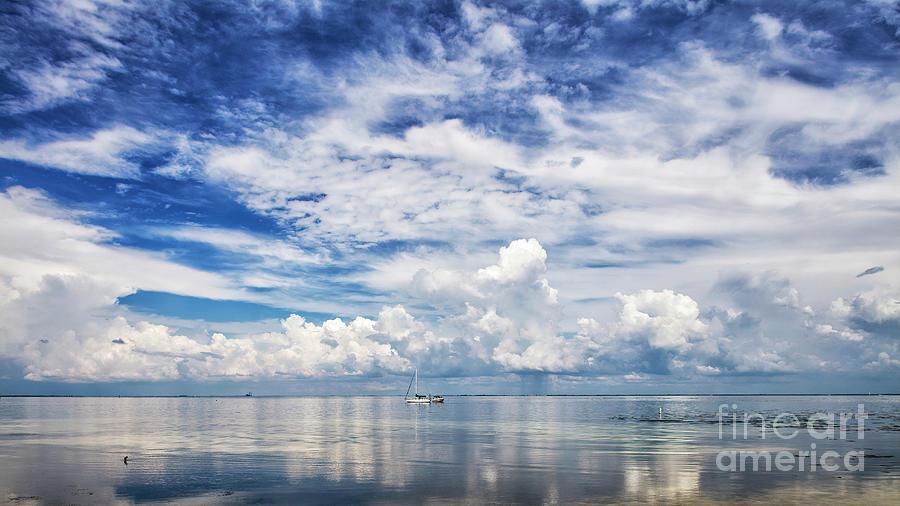 Splendid Florida, Sky And Sea by Felix Lai