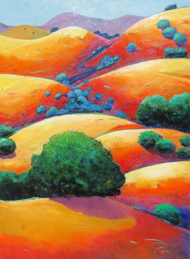 Splendid Uphill Revision Painting