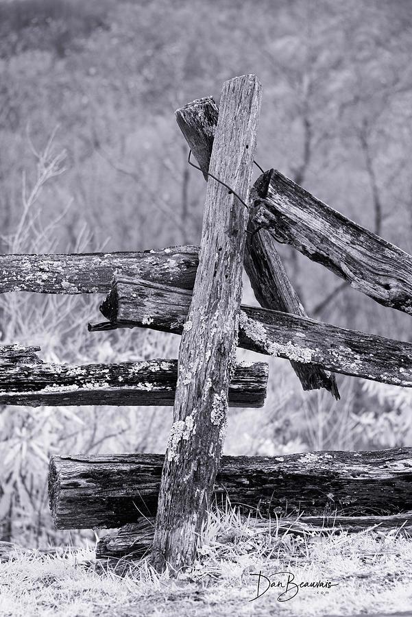 Split Rail Fence 0583 Photograph