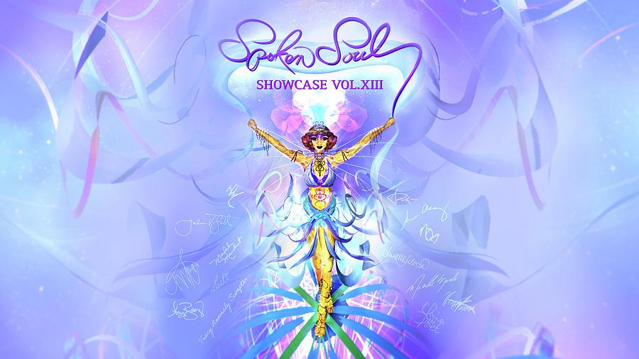 Goddess Digital Art - Spoken Soul Signed Goddess, Aurora, AR  by Alissa Christine - LUVRworldwide