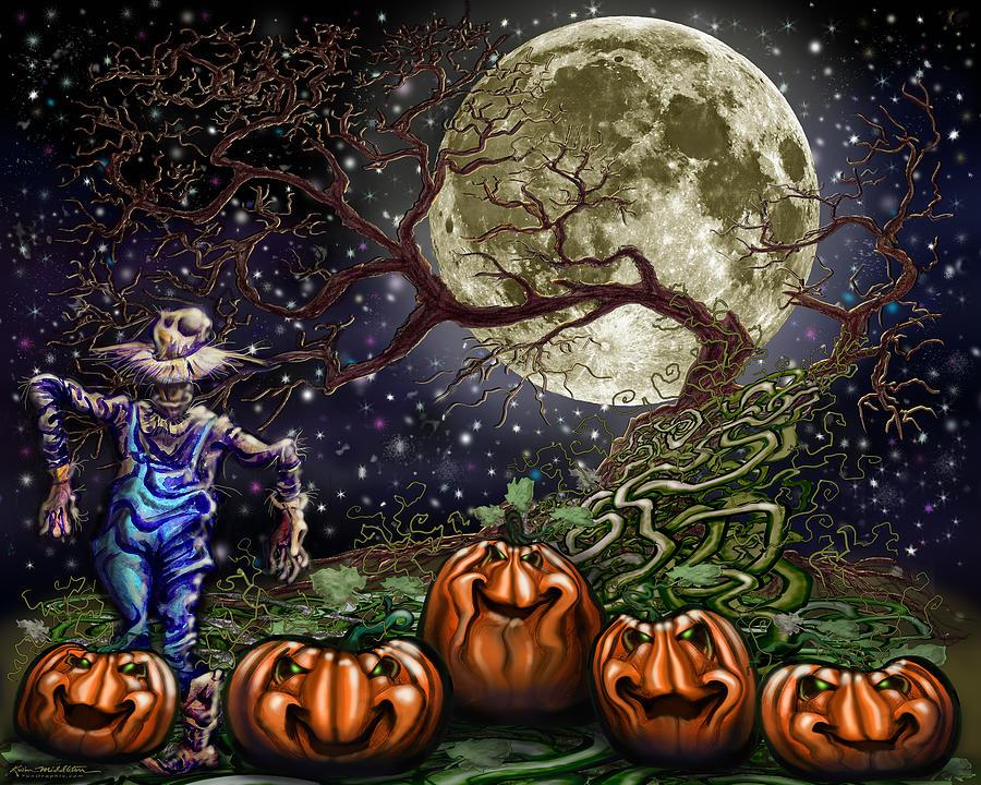 Spook Old Tree Digital Art
