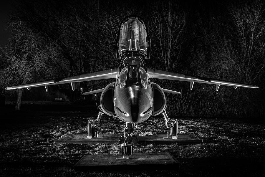 Alpha Jet Photograph - Spooky Jet by Kris Christiaens