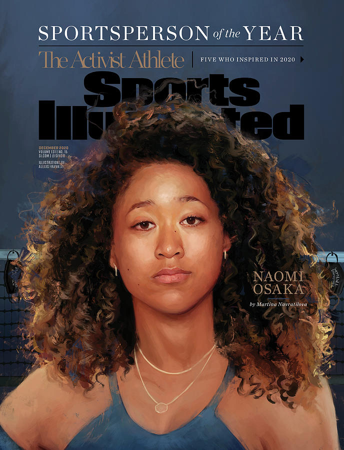 Sportsperson of the Year Naomi Osaka Photograph by Sports Illustrated