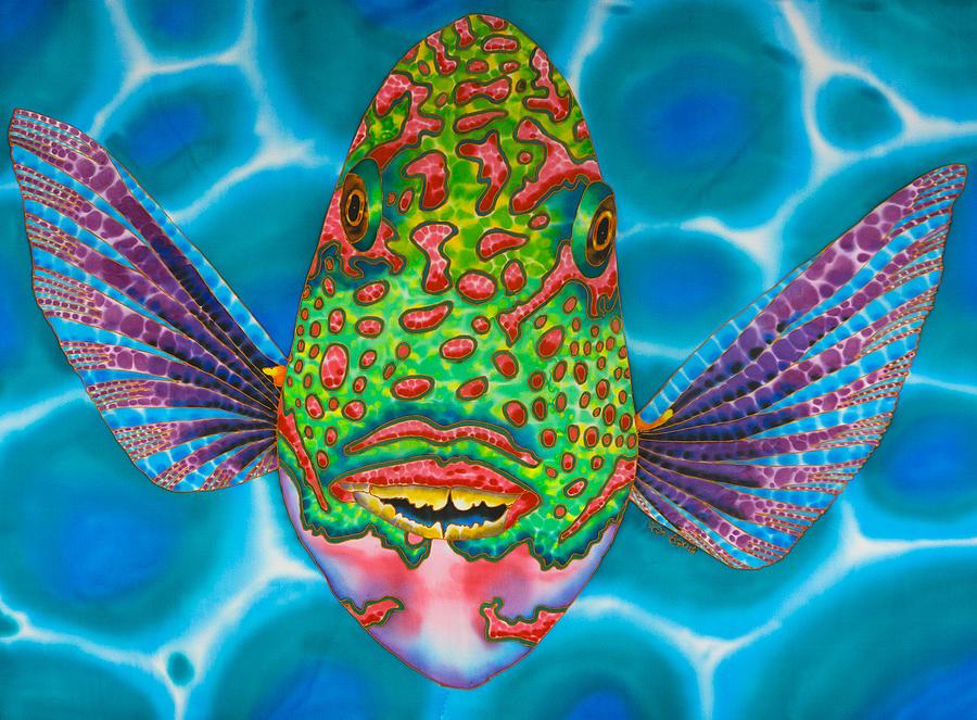 Spotted Parrotfish by Daniel Jean-Baptiste