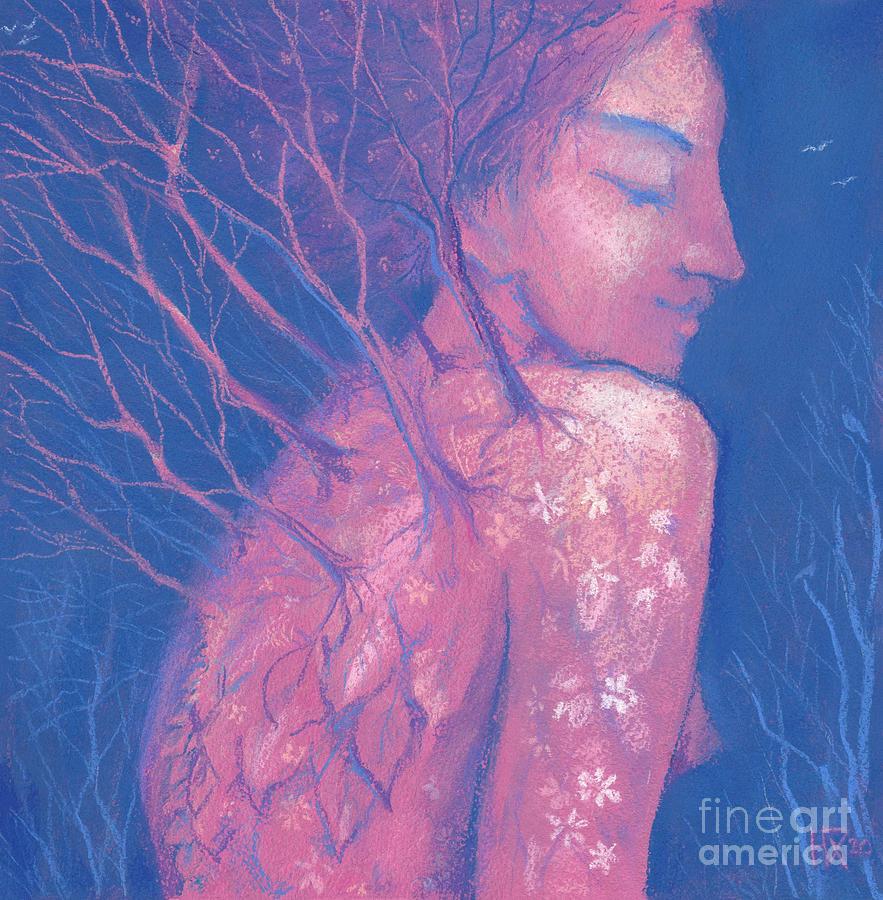 Pagan God Pastel - Spring Awakening by Julia Khoroshikh