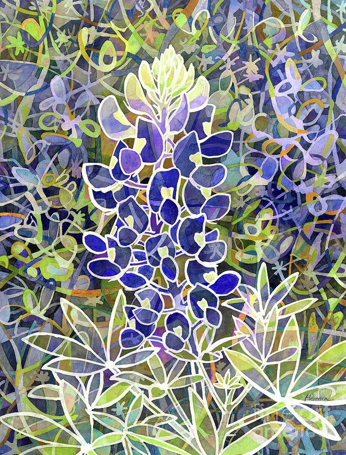 Spring Fling-blue Painting