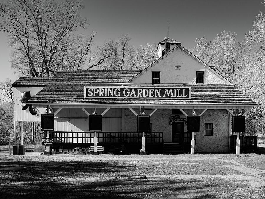 Spring Garden Mill Photograph