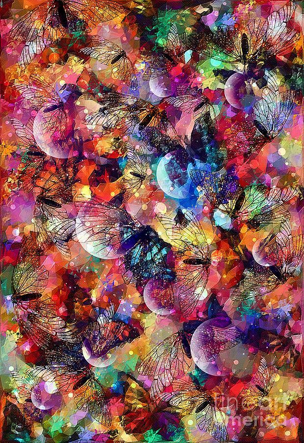 Spring Metamorphosis Art Mixed Media