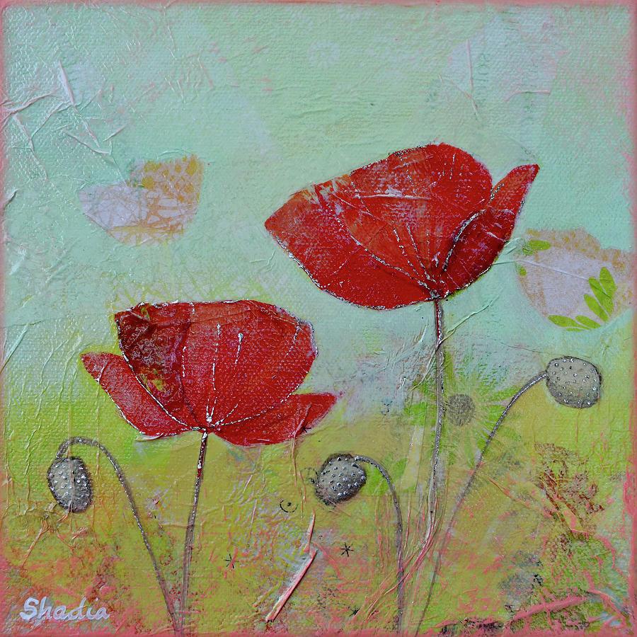Spring Poppy I Painting