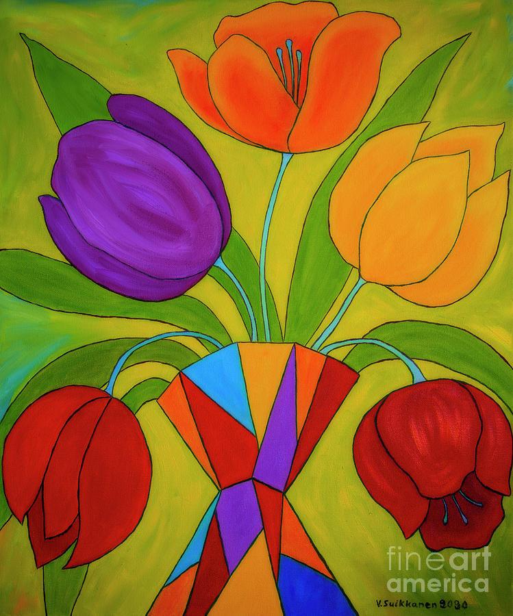 Spring Still Life Painting