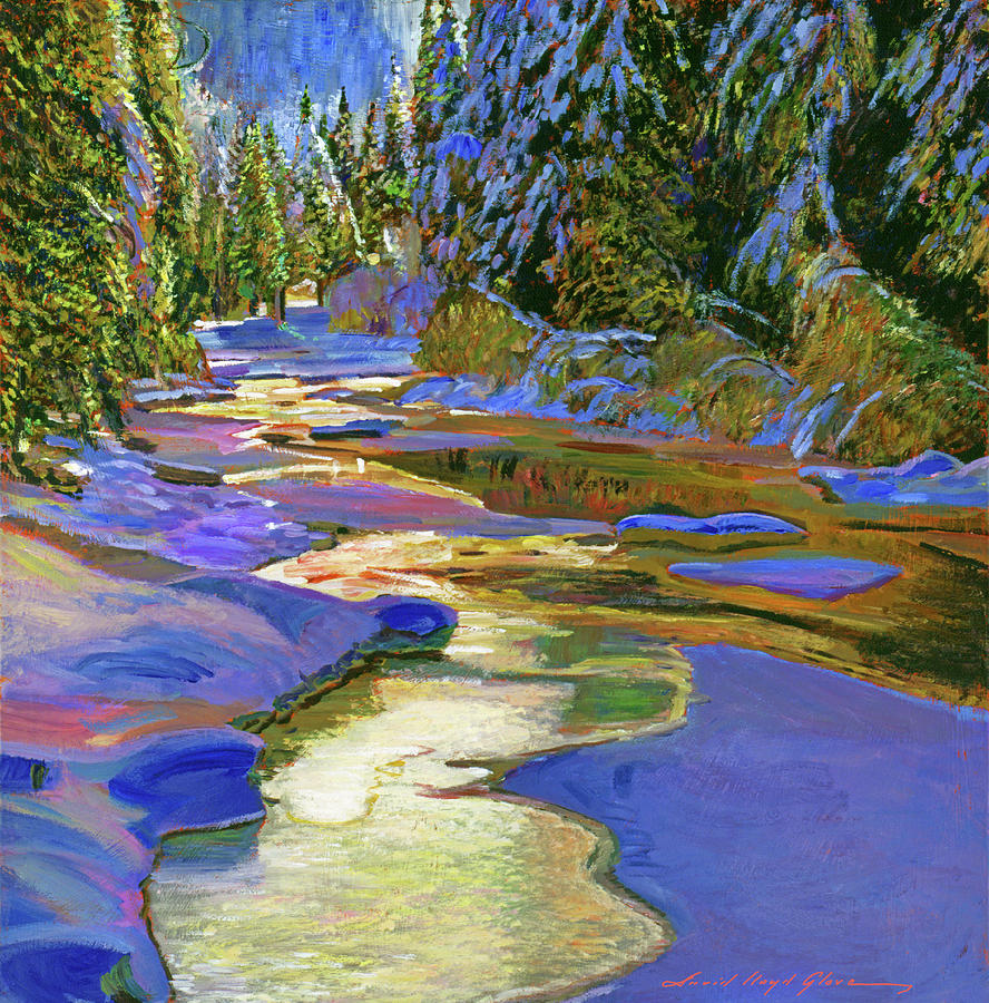 Spring Thaw Painting