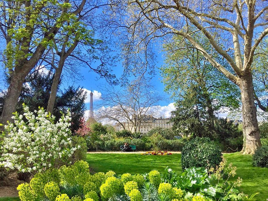 Paris Photograph - Springtime in Paris  by Scott Waters